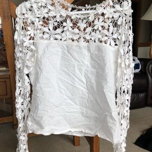 Tops - Lace top blouse
